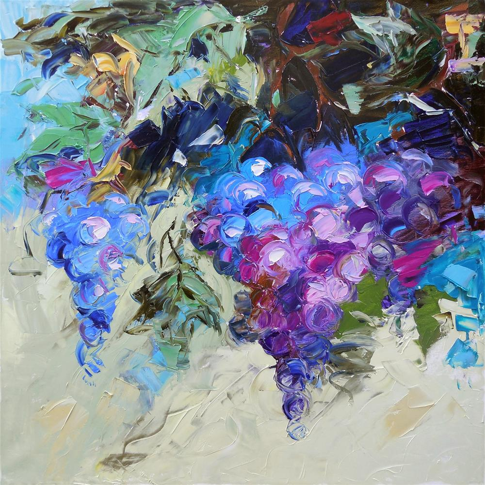 """The Vine"" original fine art by Elena Lunetskaya"