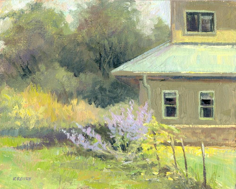 """Back Pasture"" original fine art by Kath Reilly"