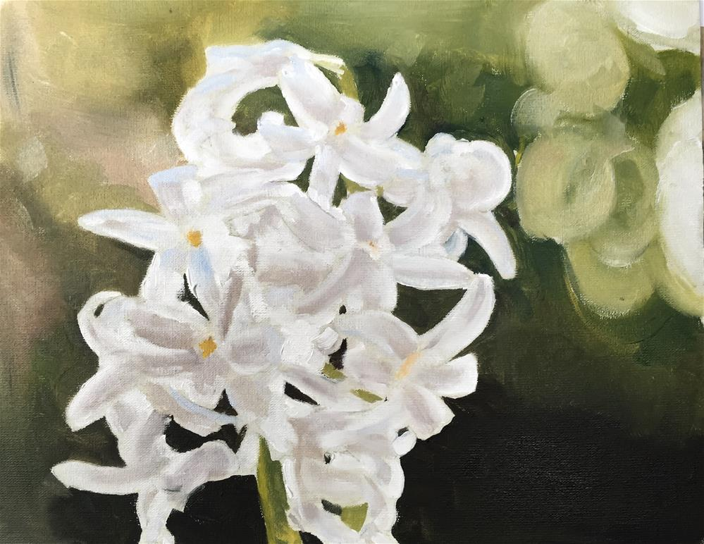 """Hyacinth"" original fine art by James Coates"