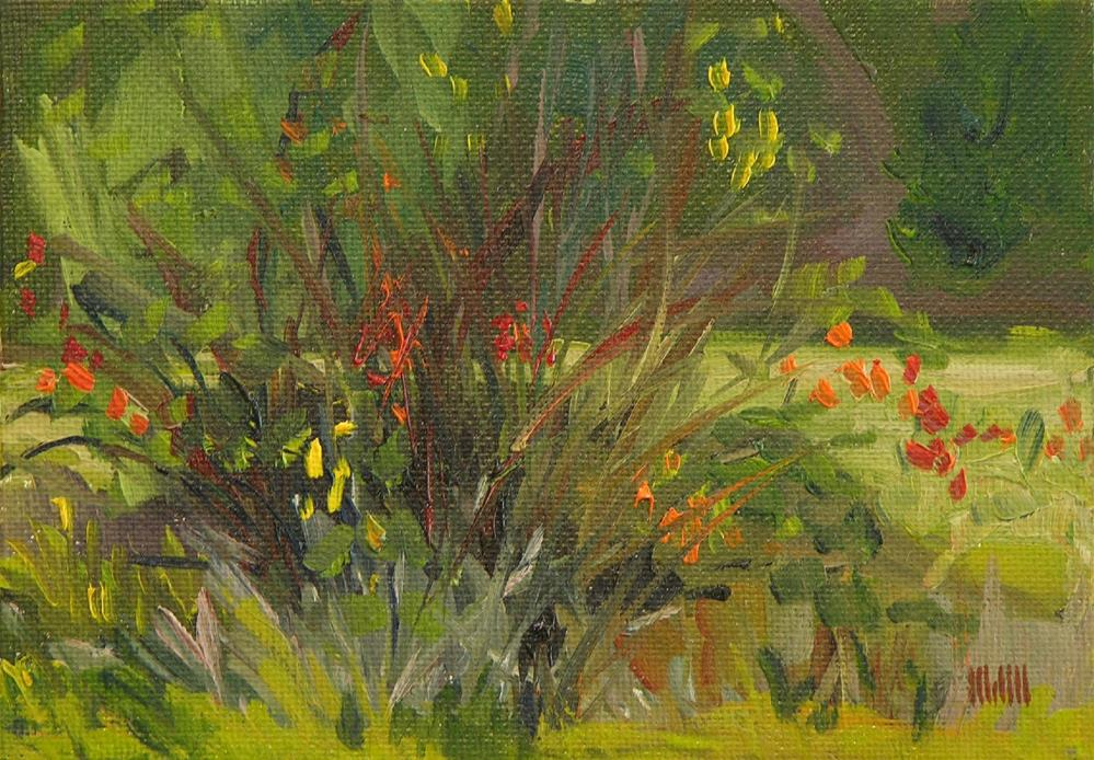 """Foliage"" original fine art by Mary McInnis"