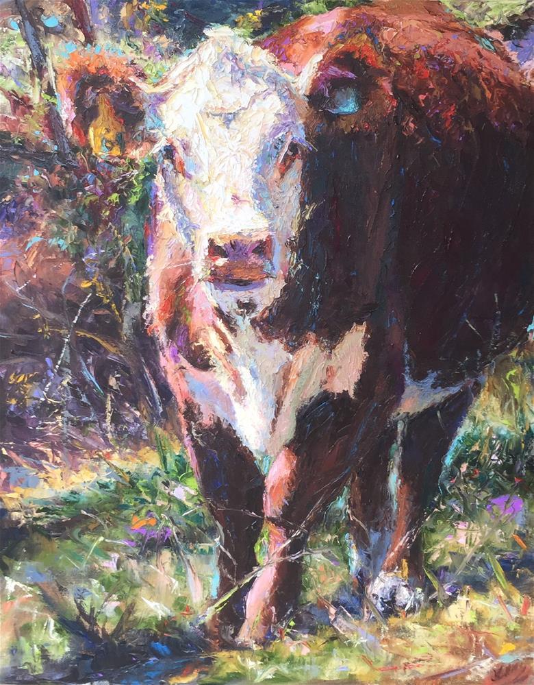 """Clara Mae"" original fine art by Jenny Buckner"