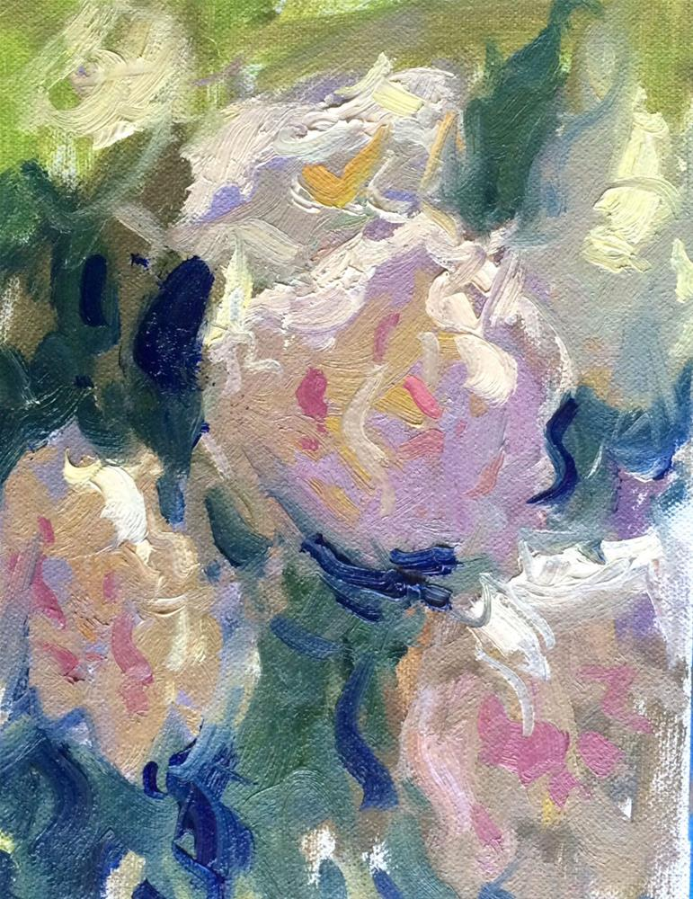 """Peony Bunch "" original fine art by Michael Clark"