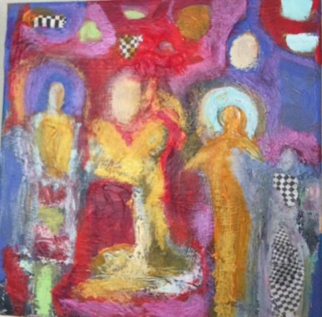 """""""Spirit Guides1"""" original fine art by Victoria Heisler"""