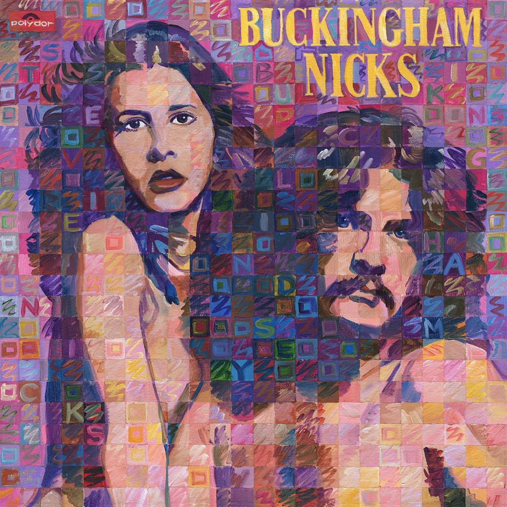 """Buckingham Nicks"" original fine art by Randal Huiskens"