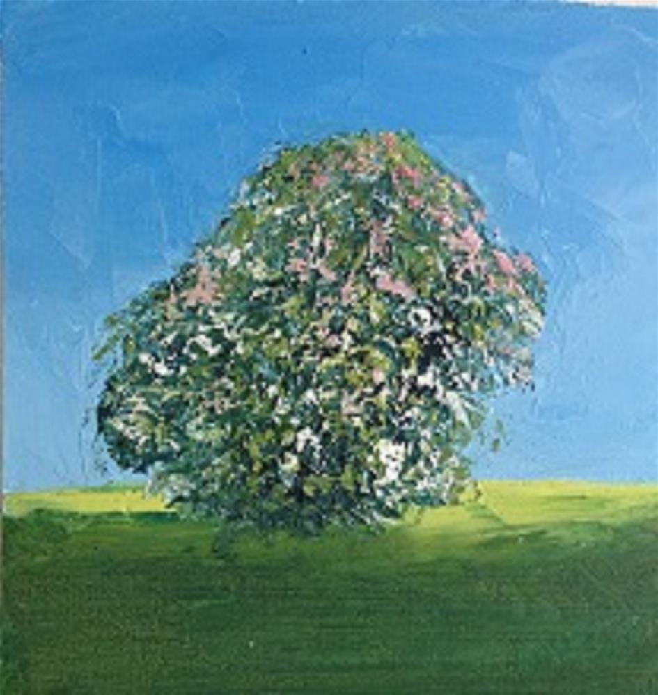 """The Fairy Tree"" original fine art by Marie O' Higgins"