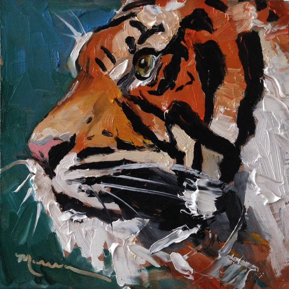 """Bo"" original fine art by Marcia Hodges"