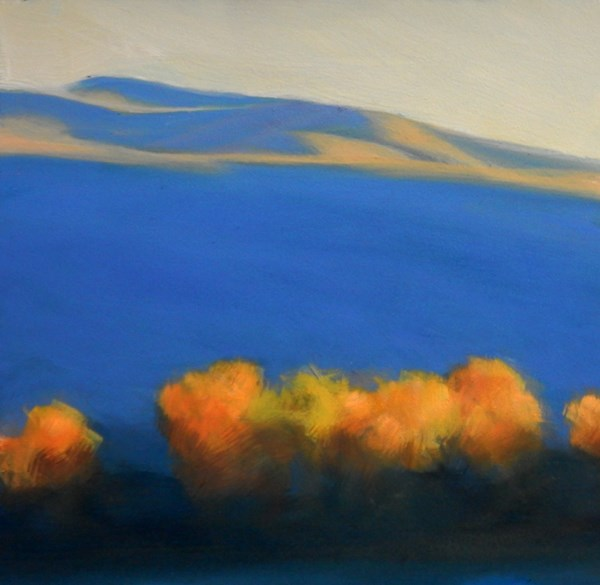 """Last of the Light 2"" original fine art by Carolyn Caldwell"