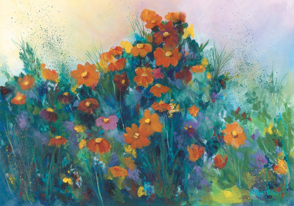 """Wild & Wonderful"" original fine art by Pamela Gatens"