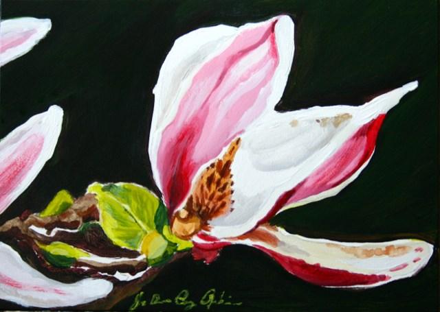 """Big Bloom"" original fine art by JoAnne Perez Robinson"
