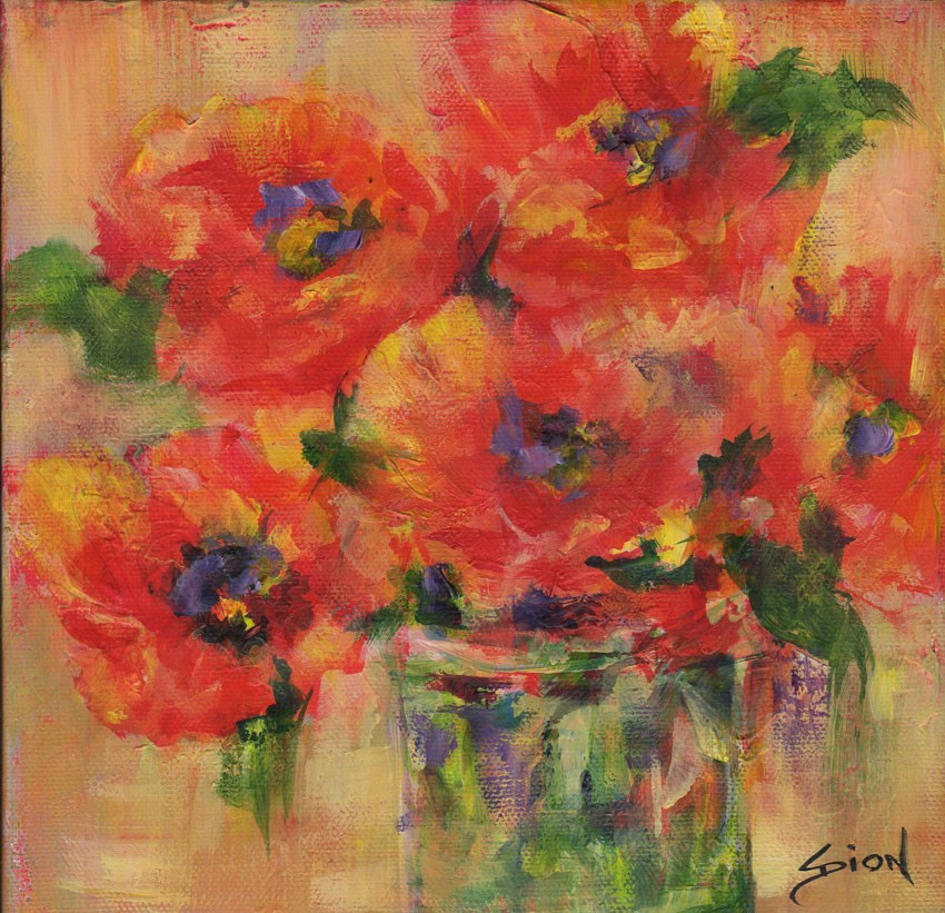"""Wild and Free"" original fine art by Sue Dion"