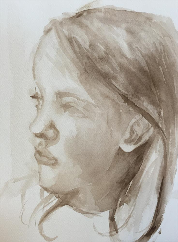 """Elsie (sketch #2)"" original fine art by Cindy McDonough"