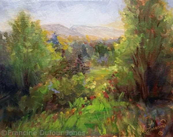 """Kenkaid Park II"" original fine art by Francine Dufour~Jones"