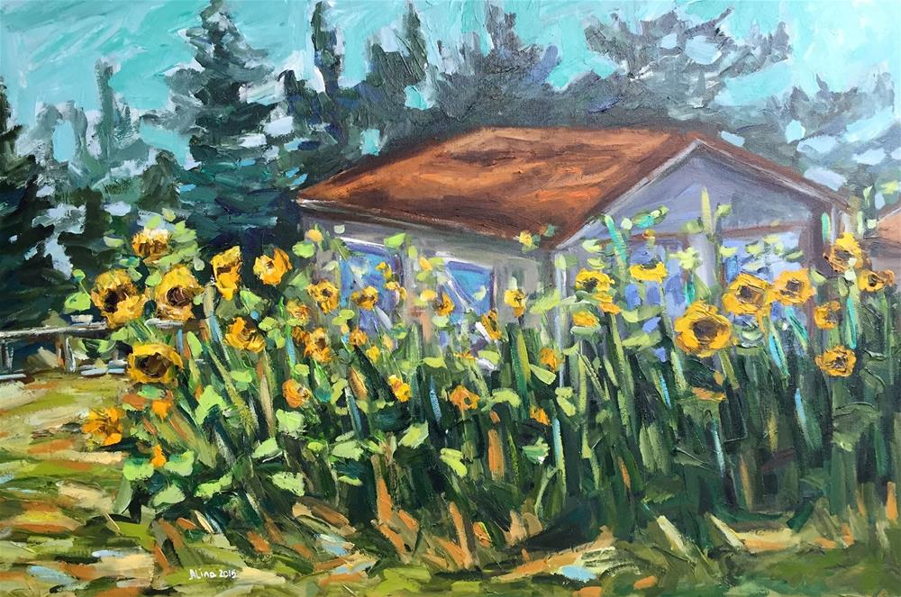 """Summer Day"" original fine art by Alina Vidulescu"