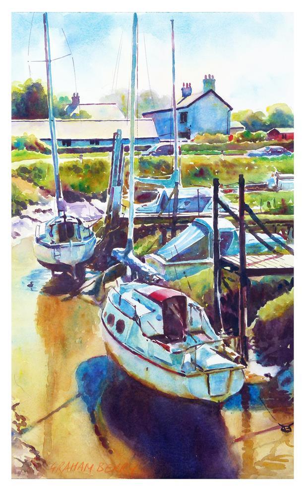 """Wardleys Creek."" original fine art by Graham Berry"