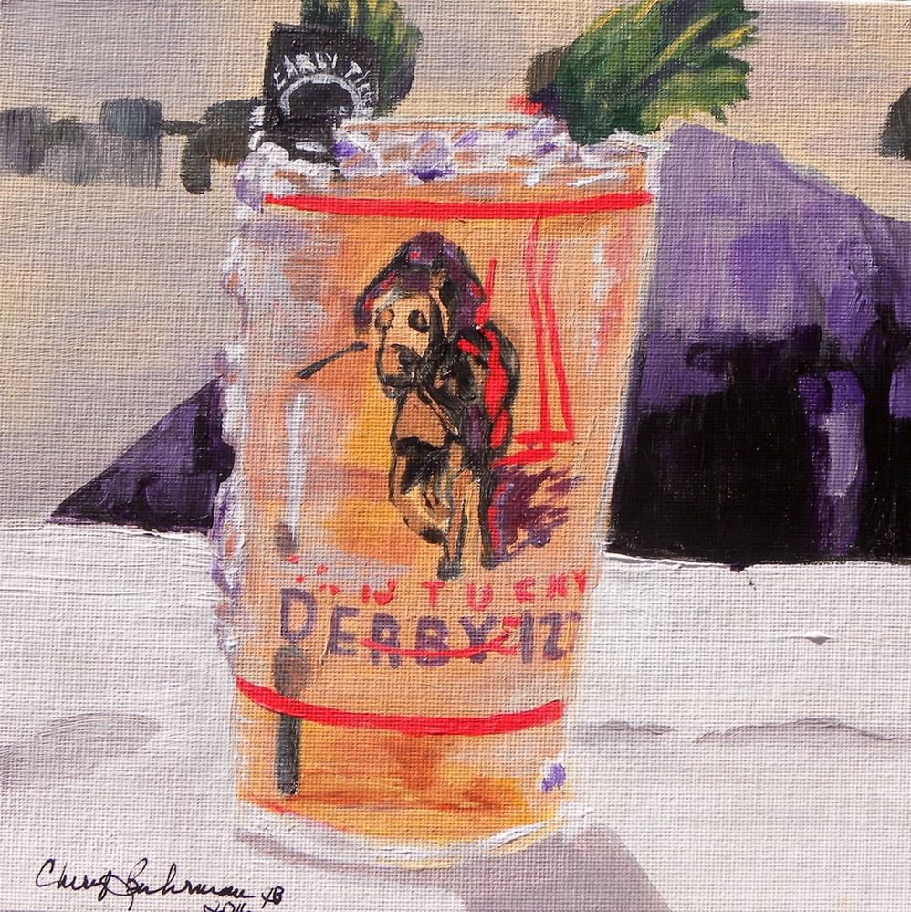 """Mint Julep"" original fine art by cheryl buhrman"