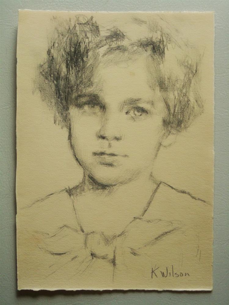 """Drawing #1"" original fine art by Katie Wilson"