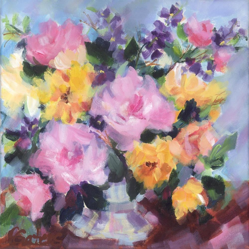 """Rose Bouquet"" original fine art by Pamela Gatens"