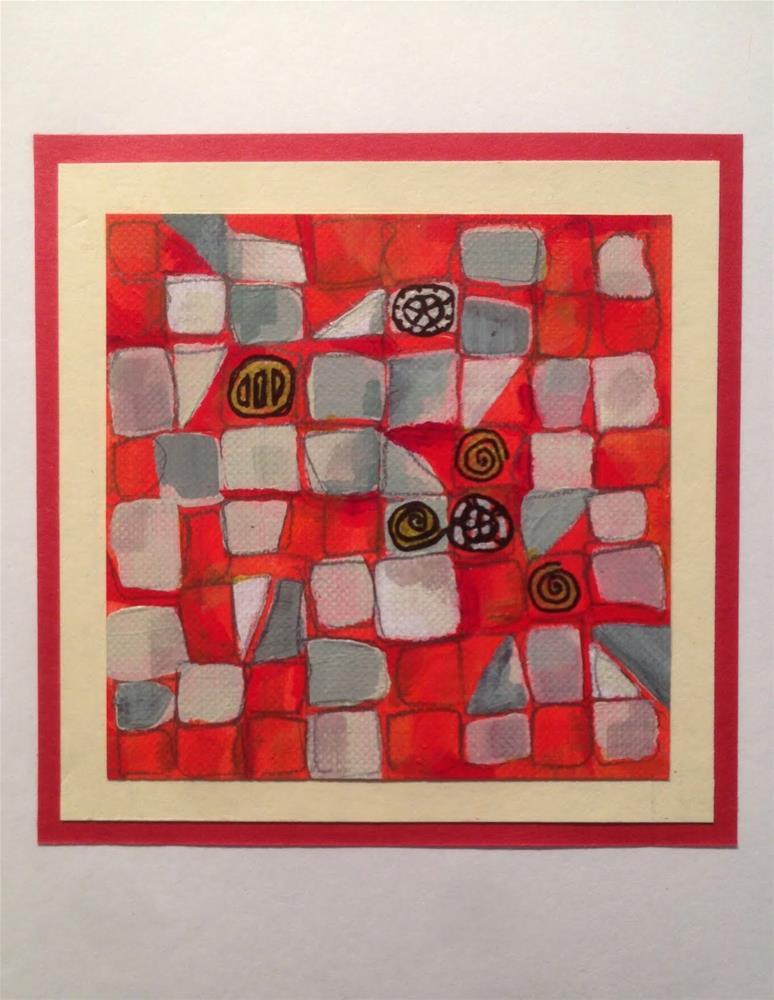 """""""Rightchess Move"""" original fine art by Dotty  Seiter"""