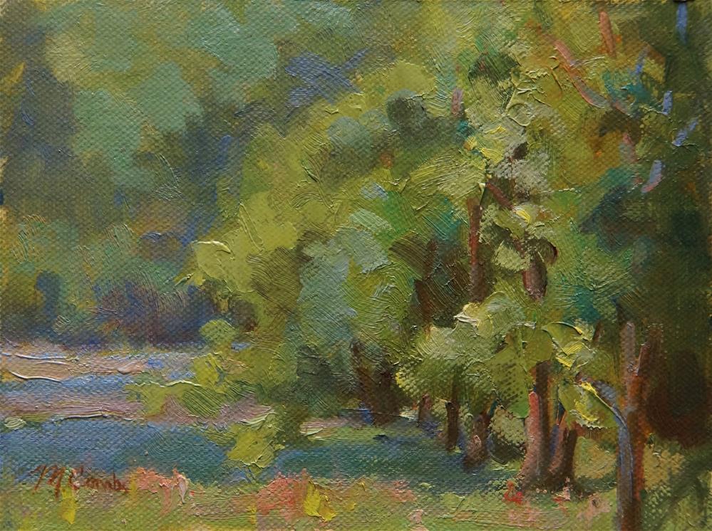 """Tree Line"" original fine art by Michele Combs"
