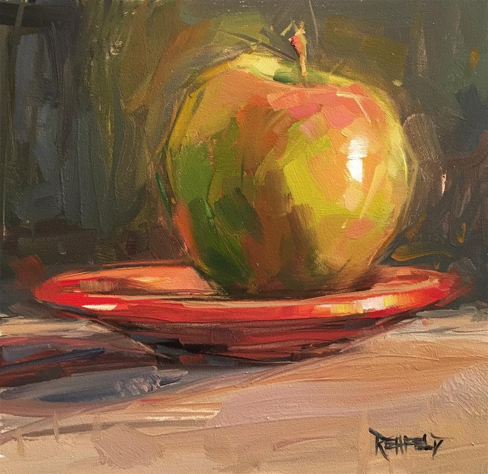 """Before The Apple Pie"" original fine art by Cathleen Rehfeld"