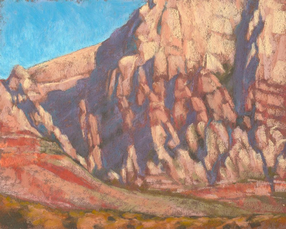Red Rock - from the Plein Air convention paint-out original fine art by Rita Kirkman