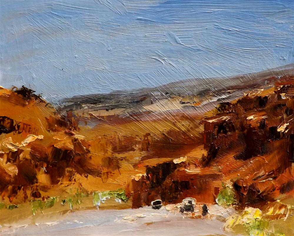 """Landscape,s20"" original fine art by Run-      Zhang Zane"