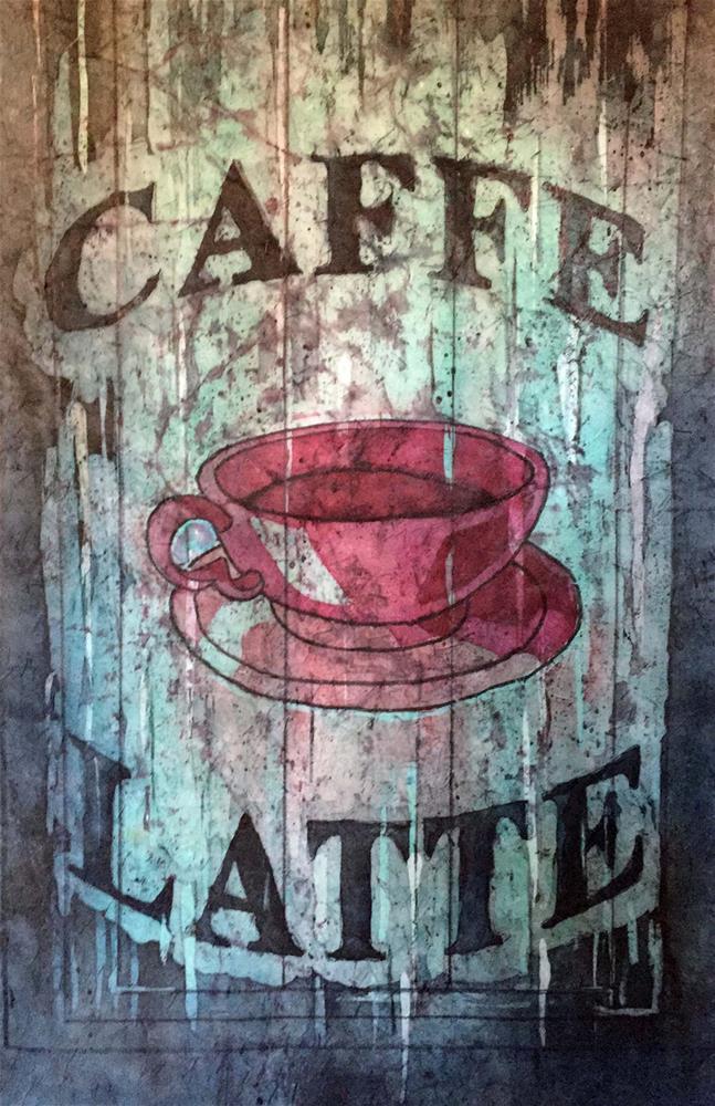 """""""Caffe Latte"""" original fine art by Diane Fujimoto"""