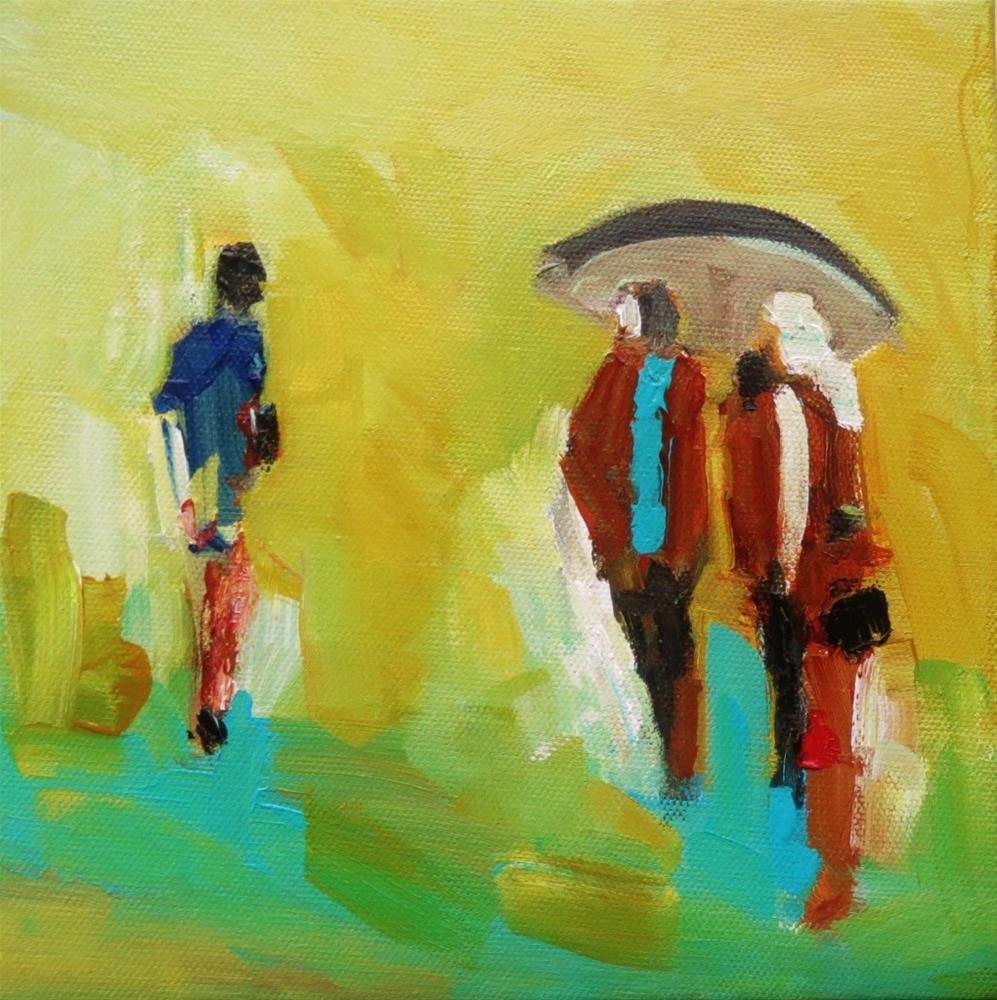 """""""voyagers 3"""" original fine art by Astrid Buchhammer"""