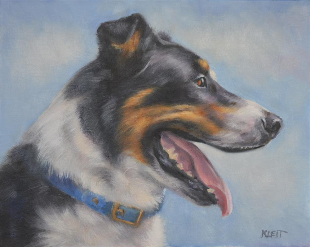 """Sam"" original fine art by Tracy Klett"