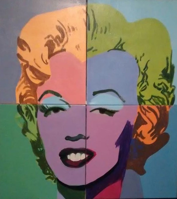 """Marilyn Monroe"" original fine art by michael vigneux"