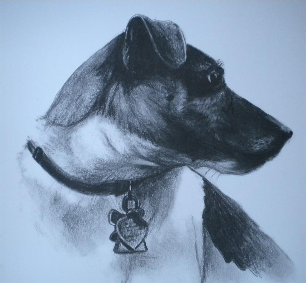"""Jack "" original fine art by Hilarie Johnson"