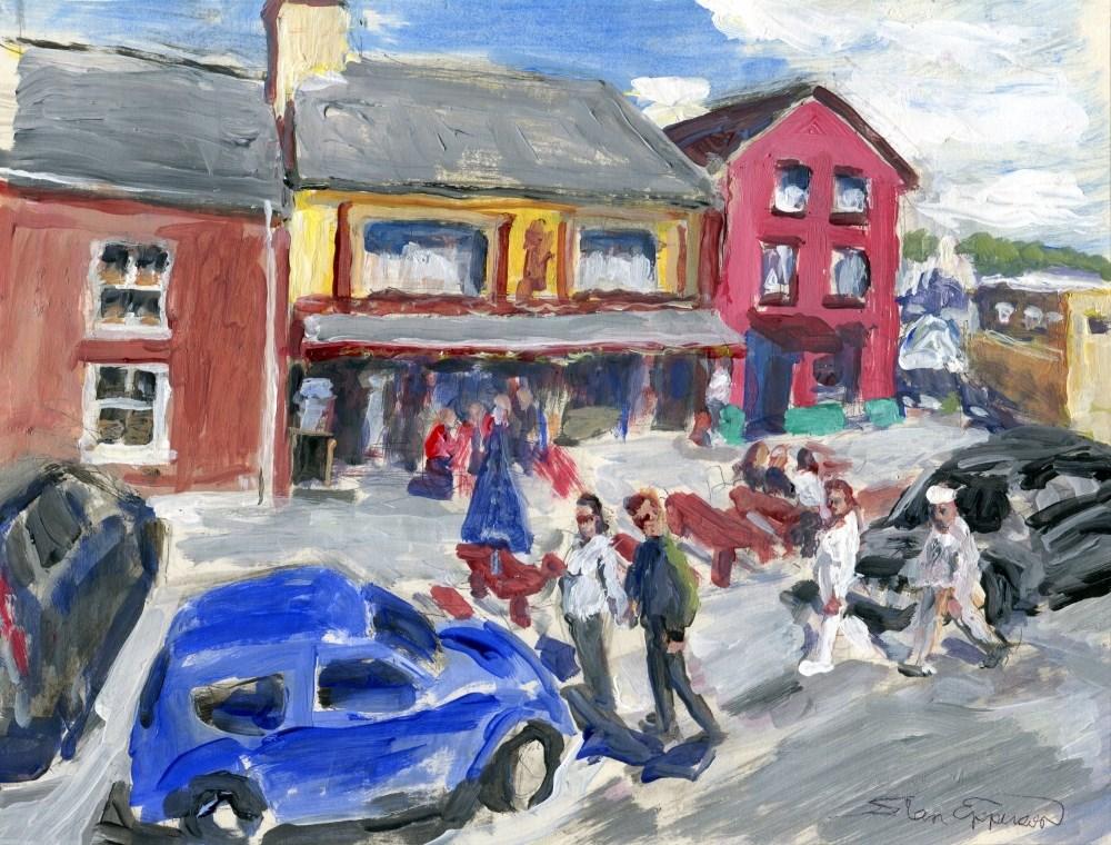 """""""Sneem, Ireland"""" original fine art by Stanley Epperson"""