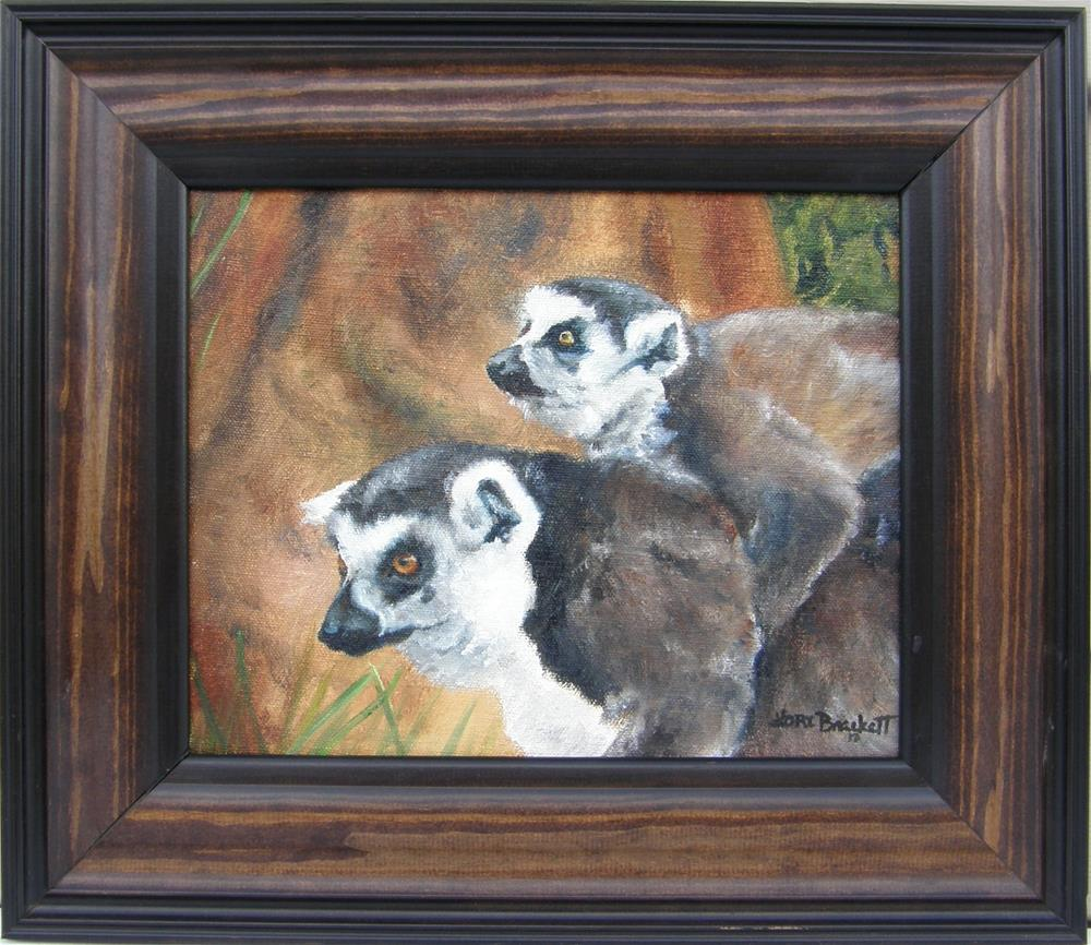 """""""Come On, Come On, They're Ahead"""" original fine art by Lori Brackett"""