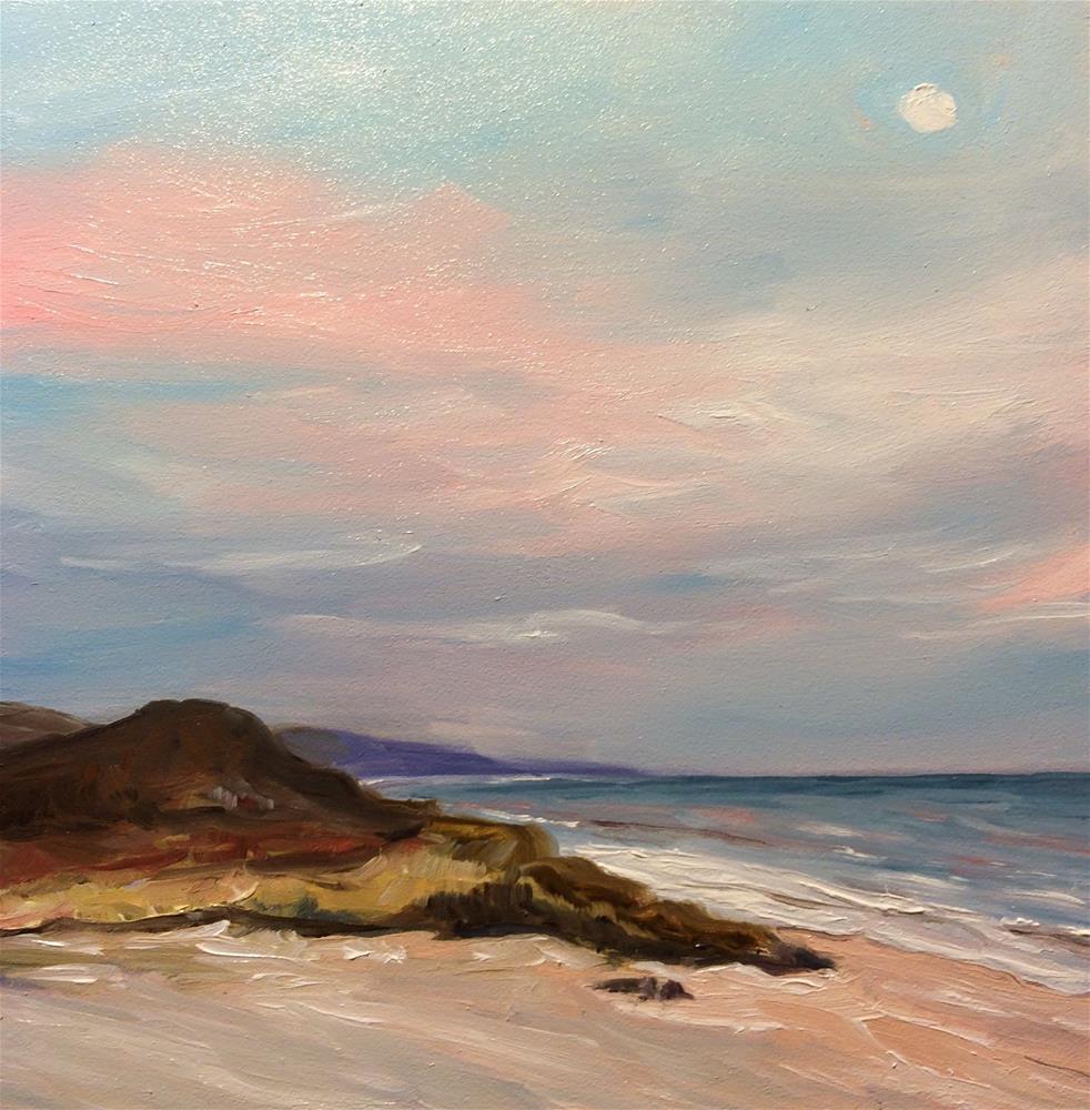 """To The Beach"" original fine art by Kim Clay"