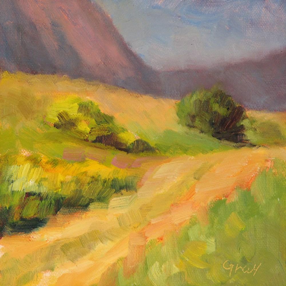 """Old Wagon Trail"" original fine art by Naomi Gray"
