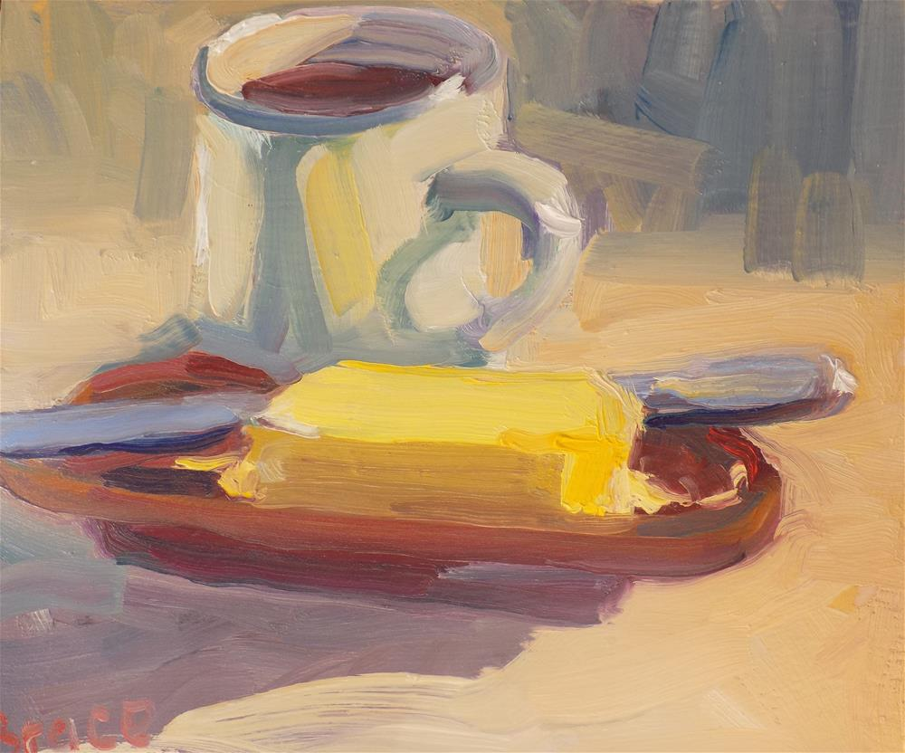"""Butter"" original fine art by Rita Brace"