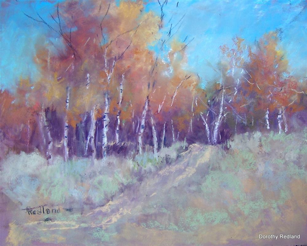 """Big Horn Autumn"" original fine art by Dorothy Redland"