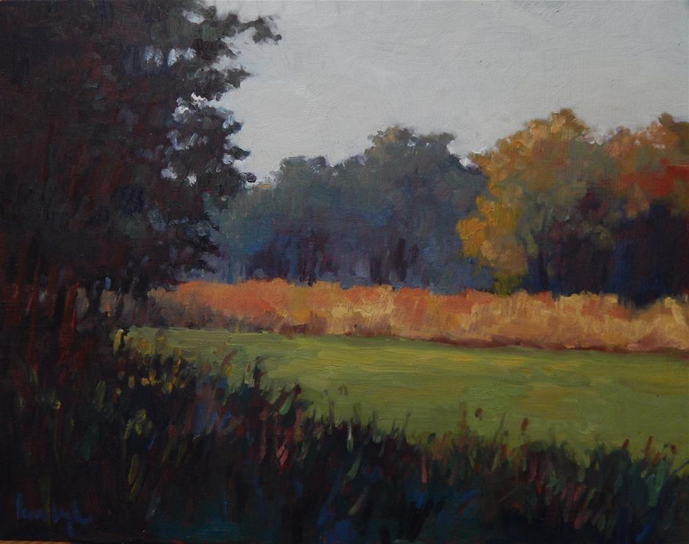 """""""Color in the Shadows"""" original fine art by Lisa Kyle"""