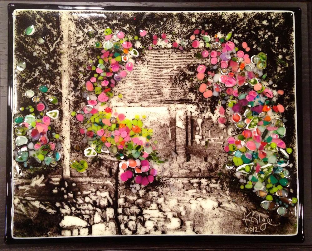 """""""Garden Party"""" original fine art by Kelly Alge"""