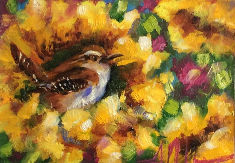 """""""Mighty Might"""" original fine art by Susie Monzingo"""