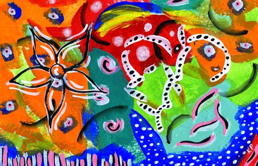 """Aroma"" original fine art by Kali Parsons"
