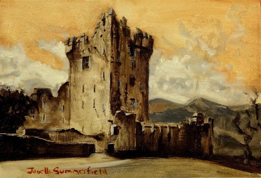 """Ross Castle"" original fine art by Jonelle Summerfield"