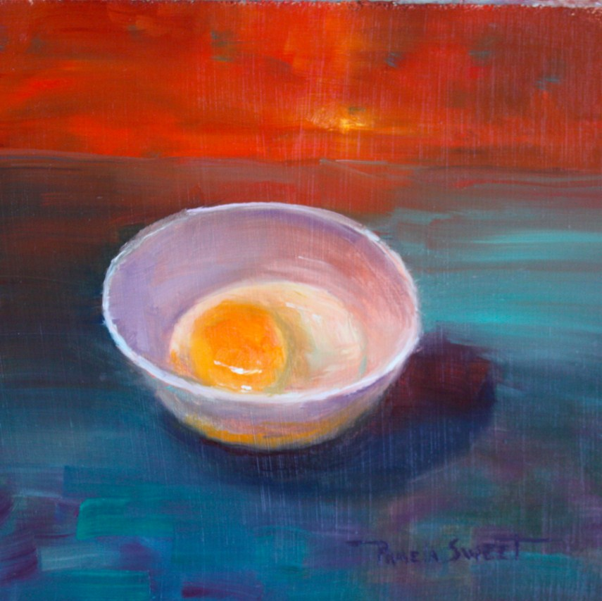 """Sunny Side Up"" original fine art by Pamela Sweet"