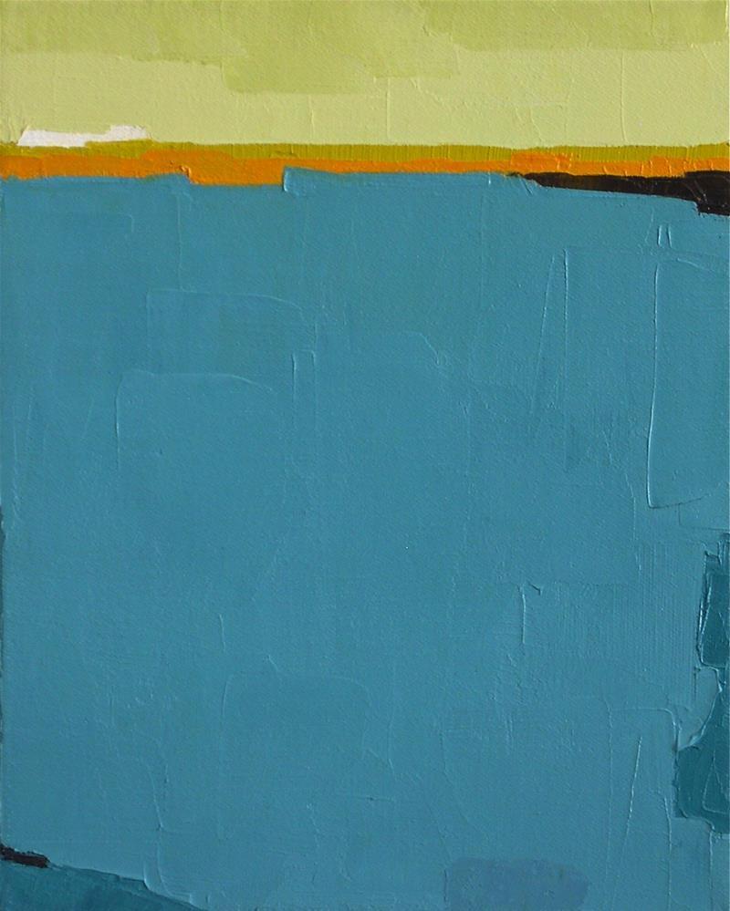 """""""Horizon VI"""" original fine art by Donna Walker"""