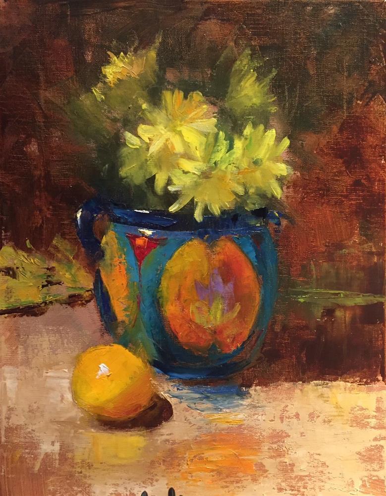 """Untitled"" original fine art by Barbara Fluty"