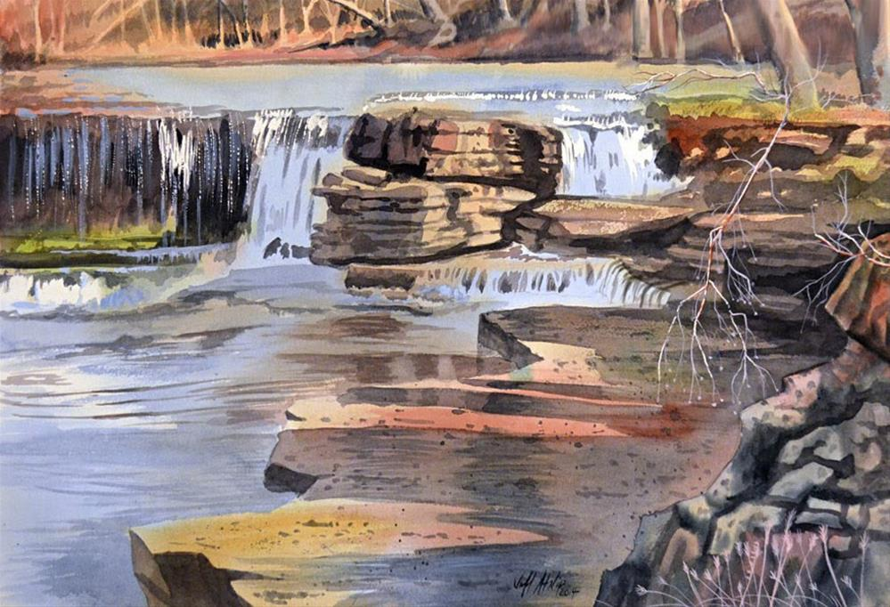 """Duck River"" original fine art by Jeff Atnip"