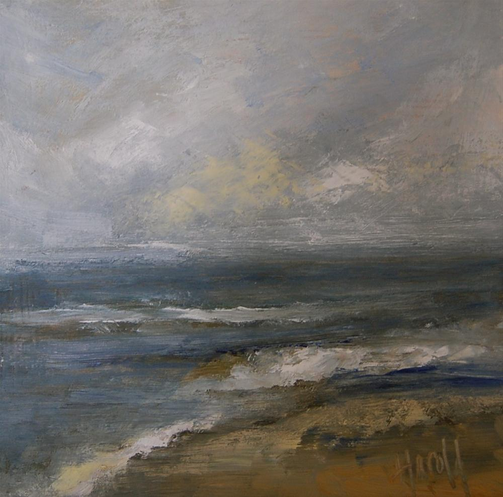 """Storm"" original fine art by Deborah Harold"