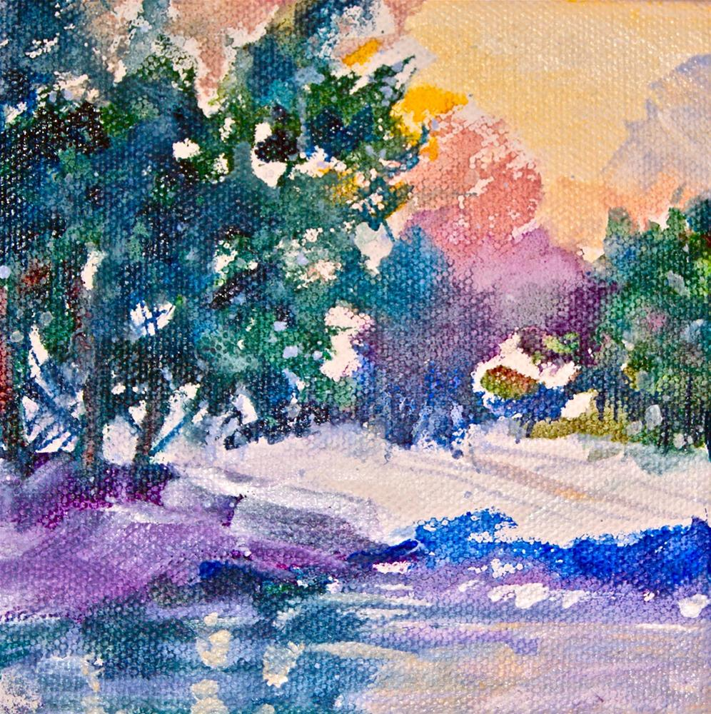 """Frosty Morning"" original fine art by Reveille Kennedy"