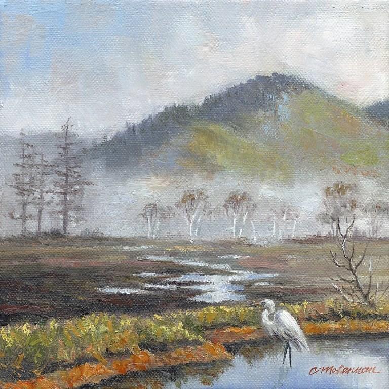 """In Winter"" original fine art by Connie McLennan"