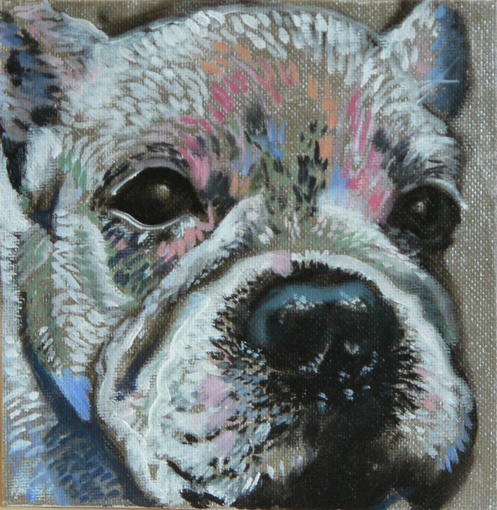 """Pooch"" original fine art by Leigh Buchanan"
